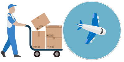 Airfreight to WEB